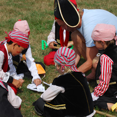 Sprankel piraten verkleedkist